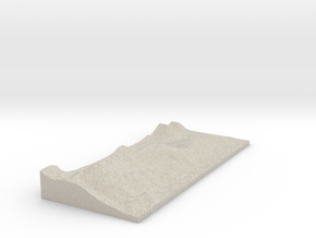 Model of Grange in Natural Sandstone