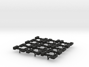 HEA Hopper Couplers in Black Natural Versatile Plastic