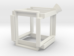 G360 Shapeways in White Natural Versatile Plastic