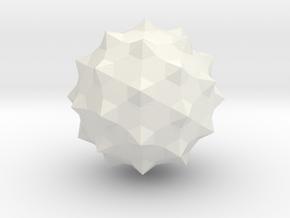 Maceball mini in White Natural Versatile Plastic