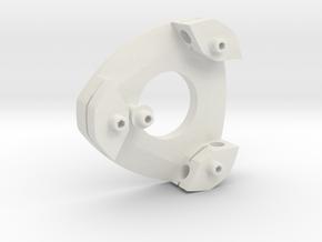 Leica / Wild GST20 1/4 scale tripod head in White Natural Versatile Plastic