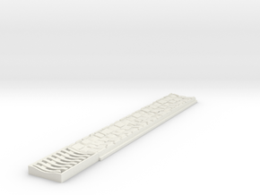 0523 Ablaufrinne Mit Gully Komplett in White Natural Versatile Plastic