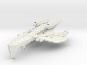 Wardog Class HvyCruiser in White Natural Versatile Plastic