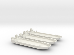 1/700 LCT-5 x 3 Off in White Natural Versatile Plastic