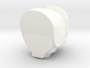 Rhinox Single Piece R in White Processed Versatile Plastic