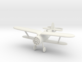 1/144 Polikarpov I-15 Chaika   in White Natural Versatile Plastic