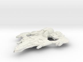 WarLion Class GunCruiser in White Natural Versatile Plastic