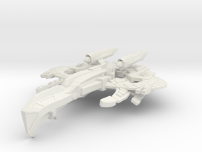WarCrow Class AssaultCruiser in White Natural Versatile Plastic