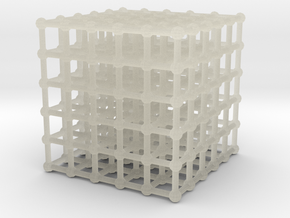 cube matrix (large) in Transparent Acrylic