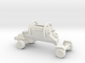 1:200 LEOPARD Security Vehicle in White Natural Versatile Plastic