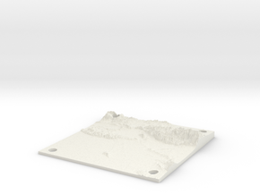 Greate LA area 15cm x 15cm panel in White Natural Versatile Plastic
