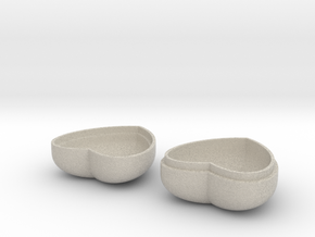 Heart-shaped Box Small in Natural Sandstone