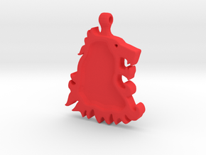 Game of Thrones LannisterLion in Red Processed Versatile Plastic