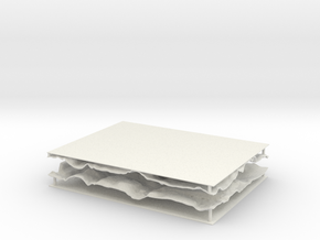Tile 5 And 6 Final 2 in White Natural Versatile Plastic