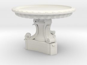 Versailles fountain in White Natural Versatile Plastic