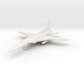 1/285 (6mm) TU-22 Backfire  in White Strong & Flexible