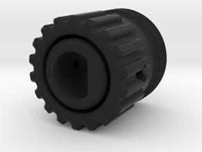 UPPER STICK GRIP ADAPTER A10C in Black Natural Versatile Plastic