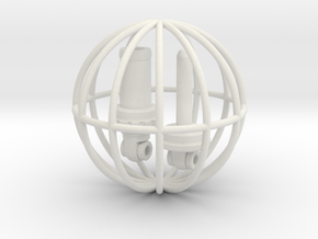 Bicycle Shock, 1:8 Scale, 130711 in White Natural Versatile Plastic
