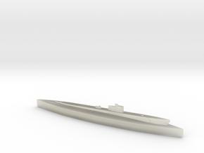 USS Grunion (Gato Class) 1/1800 in Transparent Acrylic