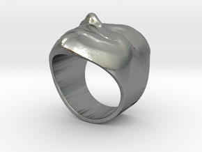 Anonymous ring 18mm in Natural Silver