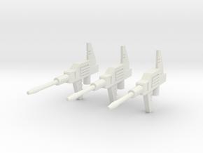 Sunlink - Datsun v4 Gun x3 in White Natural Versatile Plastic