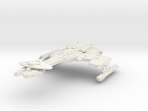 BaHchu Class HvyCruiser in White Natural Versatile Plastic