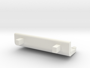 HO M7 Triple Seat in White Natural Versatile Plastic