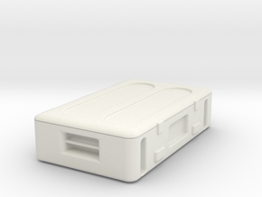 Ammo Crate in White Natural Versatile Plastic