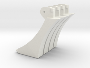 Corvo Replica Replacement Claws in White Natural Versatile Plastic