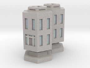 WHAM- Stackable Buildings w/ Rubble x2 (1/285th) in Full Color Sandstone