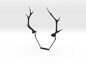 N64 Antlers in Black Strong & Flexible