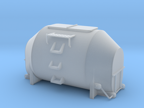 Efkr Dry Bulk Container - HOscale in Smooth Fine Detail Plastic