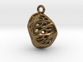 Goldmine Pendant in Natural Bronze