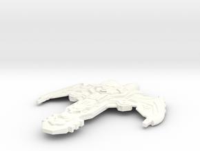 Twah'Nok in White Processed Versatile Plastic