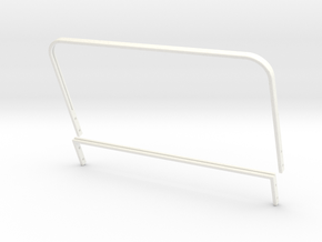 SR40011 Beach Buggy Windsceen Frame in White Strong & Flexible Polished