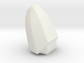 Iron Man mkIII - Middle-tip in White Natural Versatile Plastic