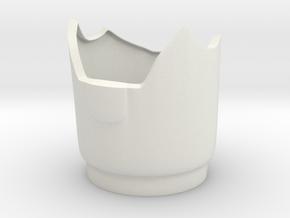 Iron Man mk III - InnerForearm in White Natural Versatile Plastic
