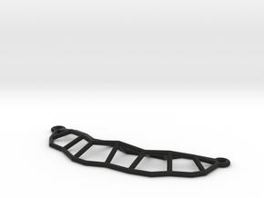 Leaf Necklace Mini in Black Natural Versatile Plastic