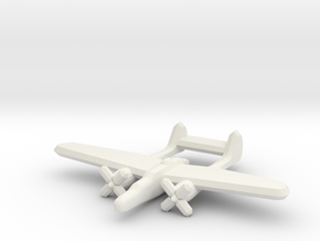 P-61 Blackwidow 1:900 in White Natural Versatile Plastic