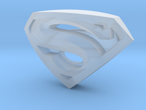 SupermanLogoII in Frosted Ultra Detail