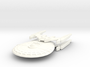 USS Tanner in White Strong & Flexible Polished
