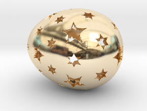 Mosaic Egg #13 in 14K Yellow Gold