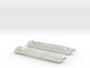 "SBB RBDe 560 ""NPZ"" - TT scale in White Natural Versatile Plastic"