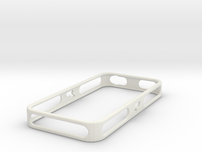 iPhone 4/4S Purdue Bumper in White Natural Versatile Plastic
