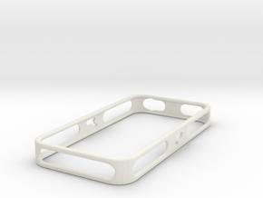 iPhone 4/4S Purdue Bumper in White Natural Versatile Plastic