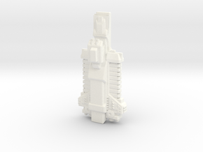 Kellderon Freighter in White Strong & Flexible Polished