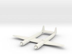 1/300 Arado Ar E 530 in White Strong & Flexible