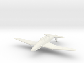 1/300 Junkers Ju 187 in White Natural Versatile Plastic