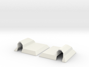 Servo cover high in White Strong & Flexible
