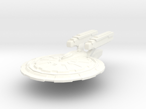 McKnight Class Cruiser in White Strong & Flexible Polished